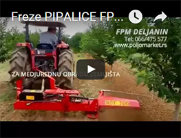 freza pipalica video
